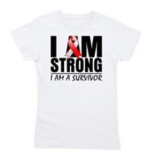 Aplastic Anemia Strong Girl's Tee