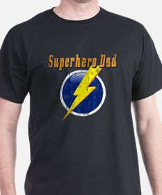 Superhero Dad Distressed T-Shirt