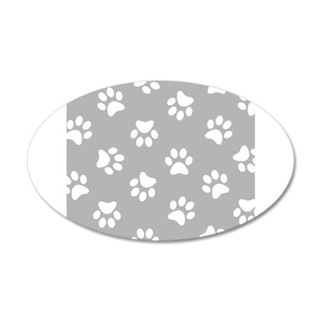 grey pawprint pattern wall sticker by admin cp49789583 dogs leave paw prints in your heart wall stickers amp decals