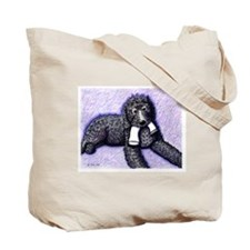 Black Doodle w/ Sock 2-sided Tote Bag