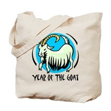 Yr of Goat b Tote Bag