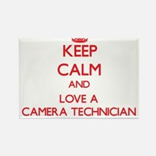 Keep Calm and Love a Camera Technician Magnets