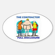 The Contractor Full Disclosure Decal
