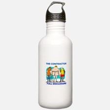 The Contractor Full Disclosure Water Bottle