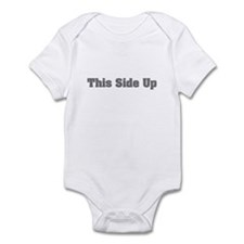 This side up. Infant Bodysuit
