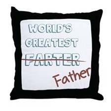 World's Greatest Father Throw Pillow