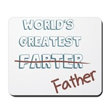 World's Greatest Father Mousepad