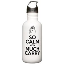 So Calm. Much Carry. Water Bottle