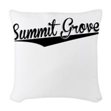 Summit Grove, Retro, Woven Throw Pillow