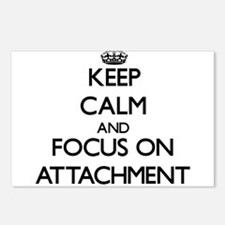 Keep Calm And Focus On Attachment Postcards (Packa