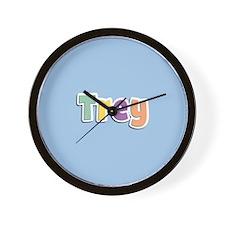 Trey Spring14 Wall Clock