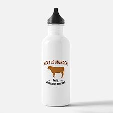 Meat is Murder! Water Bottle