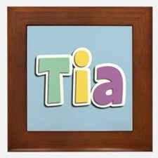 Tia Spring14 Framed Tile