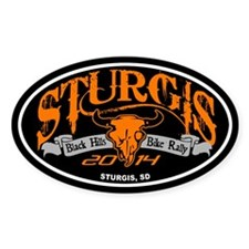 Sturgis 2014 Decal