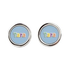 Tara Spring14 Round Cufflinks