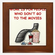 MOVIES2 Framed Tile