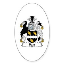 Bate Oval Decal