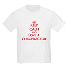 Keep Calm and Love a Chiropractor T-Shirt