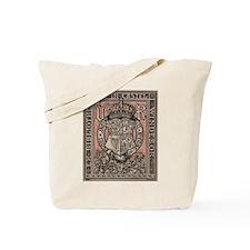 Queen Victoria Bookplate Tote Bag