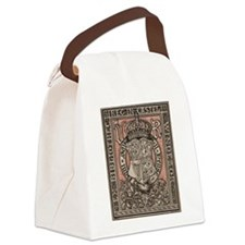 Queen Victoria Bookplate Canvas Lunch Bag