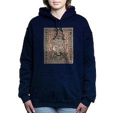 Queen Victoria Bookplate Women's Hooded Sweatshirt