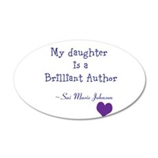 Daughter, Author Wall Decal