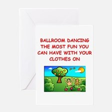 BALLROOM Greeting Cards