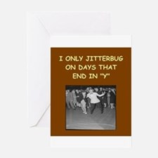 JITTER3 Greeting Cards