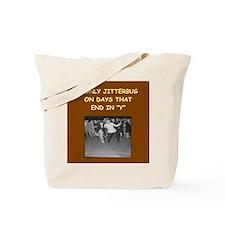 JITTER3 Tote Bag