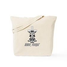 Battlefield Cross Tote Bag