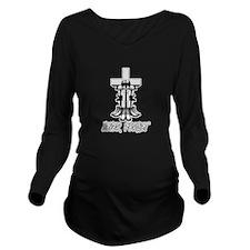 Battlefield Cross Long Sleeve Maternity T-Shirt