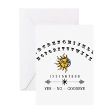 Ouija Board Greeting Cards