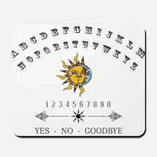 Ouija Board Mousepad