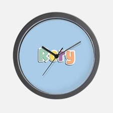 Rory Spring14 Wall Clock