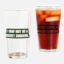 Rocket Surgeon Drinking Glass