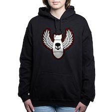 Winged bomb Women's Hooded Sweatshirt