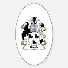Booth Oval Decal