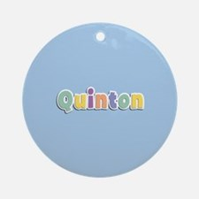 Quinton Spring14 Ornament (Round)