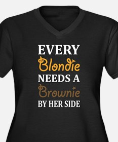 Every Blondie Needs A Brownie Best Friend Plus Siz
