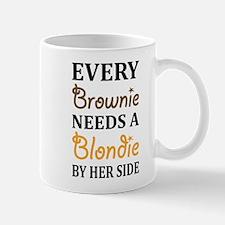 Every Brownie Needs A Blondie Best Friend Mugs