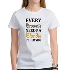 Every Brownie Needs A Blondie Best Friend T-Shirt