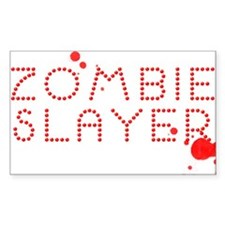 Zombie Slayer Blood Gem Decal