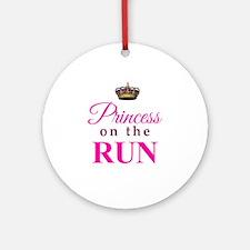 Princess on the Run Ornament (Round)