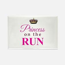 Princess on the Run Magnets