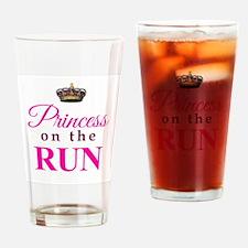 Princess on the Run Drinking Glass