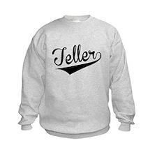 Teller, Retro, Sweatshirt