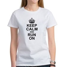 Keep Calm Run On T-Shirt