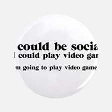 "I Could be Social 3.5"" Button"