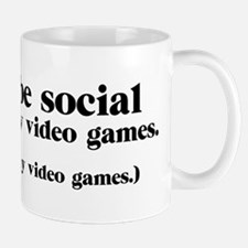 I Could be Social Mugs