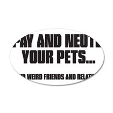Spay and Neuter Wall Decal